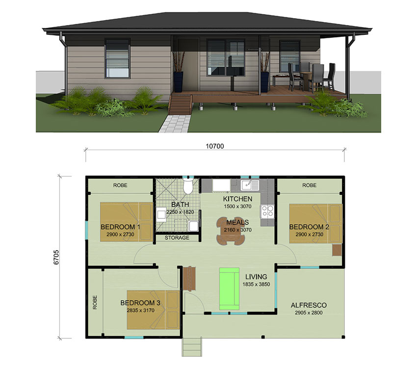 Granny_flats on Flat Design House Plans
