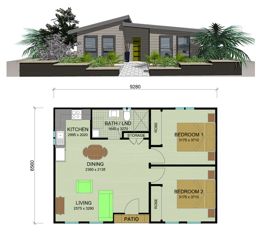 Single Floor Turning To A Double Floor Home: Trenz Granny Flat Plans Newcastle Hunter Valley Lake Macquarie